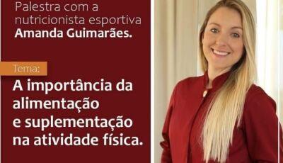 Limit Academia convida para palestra com a nutricionista Amanda nesta quarta-feira em Fátima do Sul