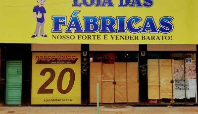 Loja das Fábricas reinaugura nesta sexta com novidades, descontos e espaço do R$ 20 em Fátima do Sul