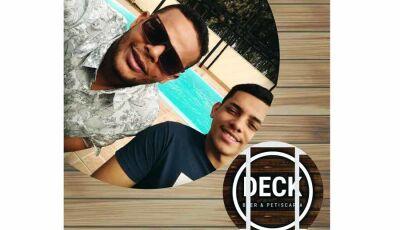Nesta quarta feira no Deck Beer & Petiscaria tem João Catra & Juliano em Fátima do Sul