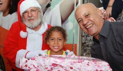 Para presentear crianças carentes, Governo lança Ação Solidária de Natal na quinta-feira
