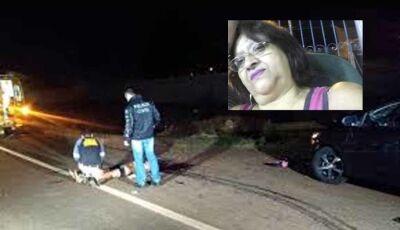 Mulher de 57 anos vai buscar neto na escola e morre atropelada por carreta em Dourados