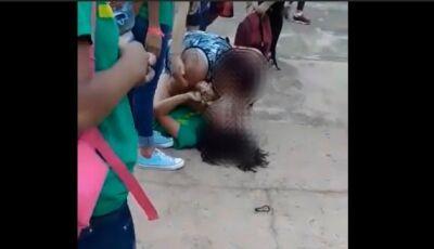 Mãe de aluna invade escola estadual na Capital e agride adolescente