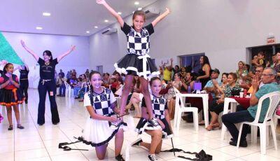 Alunos do Reino do Saber de Fátima do Sul emocionam na Mostra de Interação Cultural