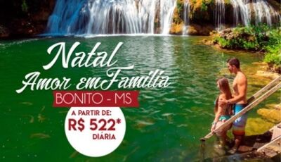 Natal 'Amor em Família' é no Águas de Bonito, Hotel, Agência e Restaurante em um só lugar em Bonito