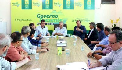 Reinaldo encerra 'Governo Presente' com visita em Dourados onde atenderá Vicentina e Fátima do Sul