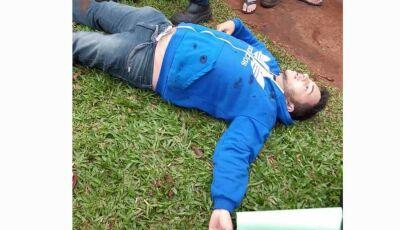 Foragido é executado com 25 tiros e cartaz é deixado ao lado do corpo