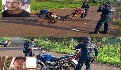 Acidente entre motos deixa duas vítimas fatais no distrito de Culturama
