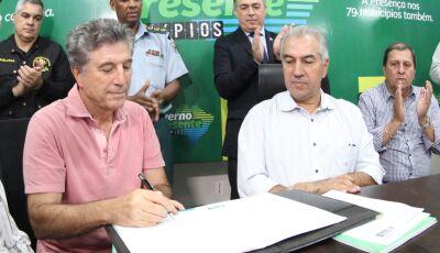 Governo de MS investirá R$ 200 milhões em obras nos próximos 3 anos em Dourados e mais 16 municípios