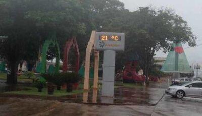 Semana inicia com muita chuva para Fátima do Sul