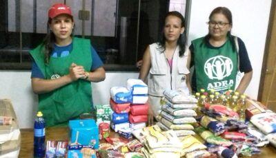 Adventistas do Sétimo Dia distribuíram mais de 500 itens de alimentos para carentes de Fátima do Sul