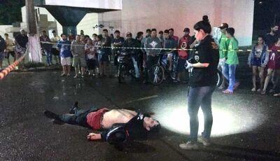 Homem com várias passagens pela polícia é executado com cinco tiros