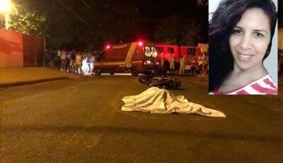 Professora morre atropelada por caminhão em Nova Alvorada do Sul
