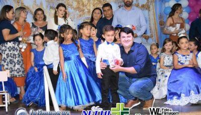 Confira as FOTOS da Formatura do pré escolar do CEI Antônio Roberto Dias em Vicentina