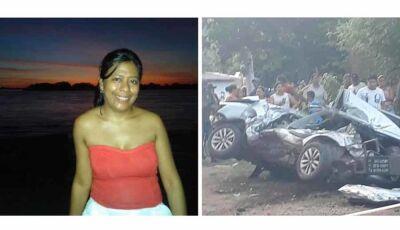 """""""Foi uma cena horrível"""", diz morador sobre acidente que matou professora em MS"""