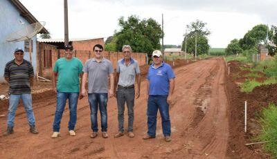 Vicentina: Prefeito destaca ações e emendas para Vila Rica e com mais de 80% asfaltada em 2020