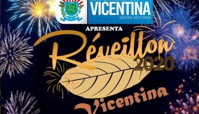 Réveillon promete, com Shows e maior show pirotécnico da história em Vicentina