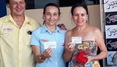 Confira os ganhadoers da moto Bis, Iphone, CNH e Freezer do Mercado Julifran em Fátima do Sul