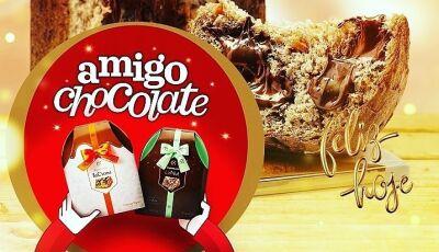 Mostre que sua amizade é uma delicia, 'Amigo Chocolate' é na Cacau Show em Fátima do Sul