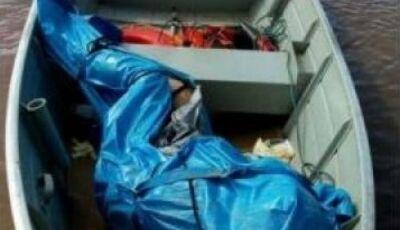 Bombeiros no rio Paraná localizam mais dois corpos de familia que afogou