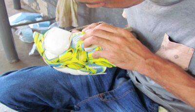 Bolas utilizadas em campeonatos brasileiros são costuradas em penitenciárias de MS, próxima é Jateí