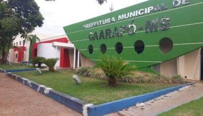 Inscrições para concurso com salários de até R$ 9.172 terminam dia 09 em Caarapó