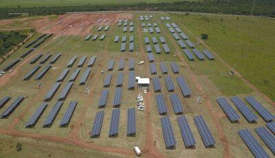 Cidade Solar é inaugurada em MS e terá capacidade de geração de 9,36 milhões de kWh/ano