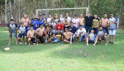 Veja FOTOS da Confraternização das Equipes de Futebol de Vicentina Iguaçu e Veteranos em Vicentina