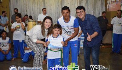 Confira as FOTOS da Formatura de Graduação do Projeto Capoeira para todos em VICENTINA