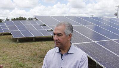 Na inauguração da Cidade Solar, Reinaldo Azambuja destaca política de incentivo à energia limpa