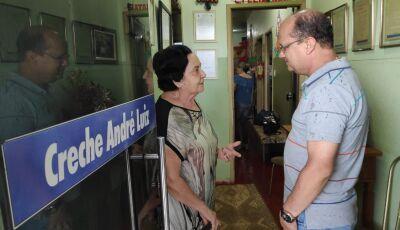 Barbosinha festeja 40 anos da Creche André Luiz com emenda parlamentar, VEJA FOTOS