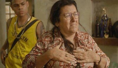 Lurdes reencontra o filho perdido em 'Amor de mãe'