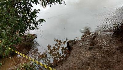 Culturamense encontrado boiando no Rio Dourados foi assassinado com facada no peito em Fátima do Sul