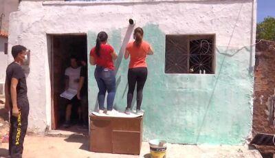 Ação de jovens da Igreja Adventista do Sétimo Dia ajuda família
