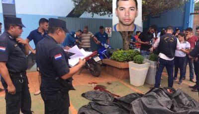 Jovem é executado a tiros em frente Vidraçaria na Fronteira