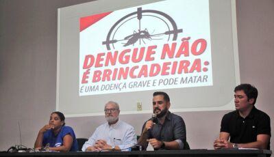 Morador que possuir foco de dengue em casa será multado na hora