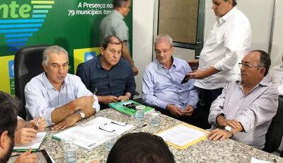 Reinaldo Azambuja anuncia cerca de R$ 2 bilhões em obras dia 6 para Bonito (MS)