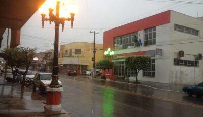 Fátima do Sul terá chuvas intensas nesta terça feira, 07, com risco de temporal