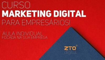 Inscrições abertas para o Curso de Marketing Digital para empresário em Dourados