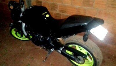 DEODÁPOLIS: Em ação rápida, motocicleta roubada em Ivinhema é recuperada