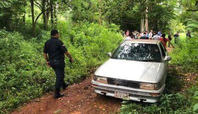 Moradores encontram quatro corpos empilhados em trilha improvisada em MS