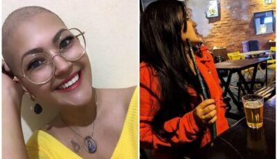 Com câncer no pulmão aos 23 anos, jovem de Dourados alerta sobre narguilé:'usava finais de semana'