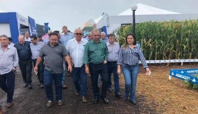 Na abertura do Showtec, governador prega otimismo com agronegócio