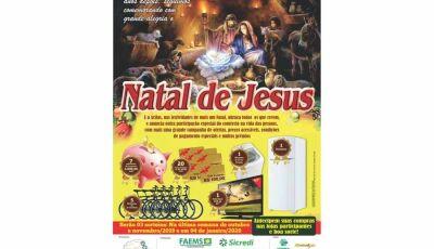 Sorteio final do Natal de Jesus da Acifas será na manhã deste sábado