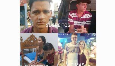 Quadrilha mata casal e rouba caminhonete e é presa pela Polícia de MS