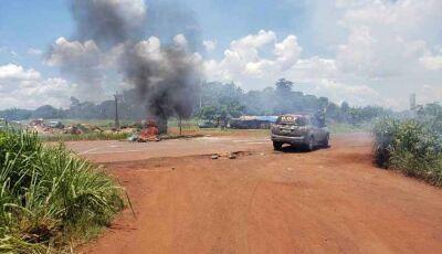 Conflito entre índios e fazendeiros termina com quatro feridos a tiros em Dourados