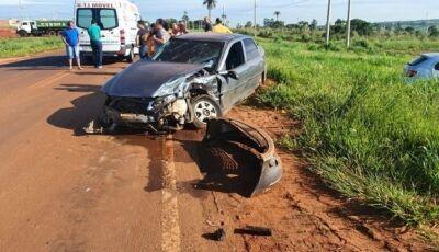 A caminho de concurso em Campo Grande, professores sofrem acidente