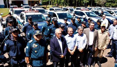 PM ganha nova frota com investimento de R$ 7 milhões do Governo de MS
