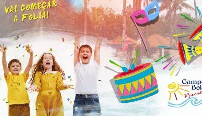 Esquenta de Carnaval é no Campo Belo Resort, confira o pacote e faça sua reserva