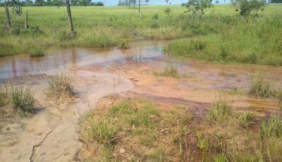 Deodapolense é autuado em R$ 8,4 mil por erosões, degradação de matas e assoreamento de córrego