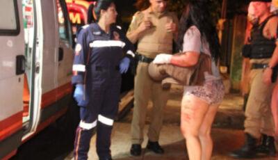 Homem invade casa e esfaqueia ex-mulher